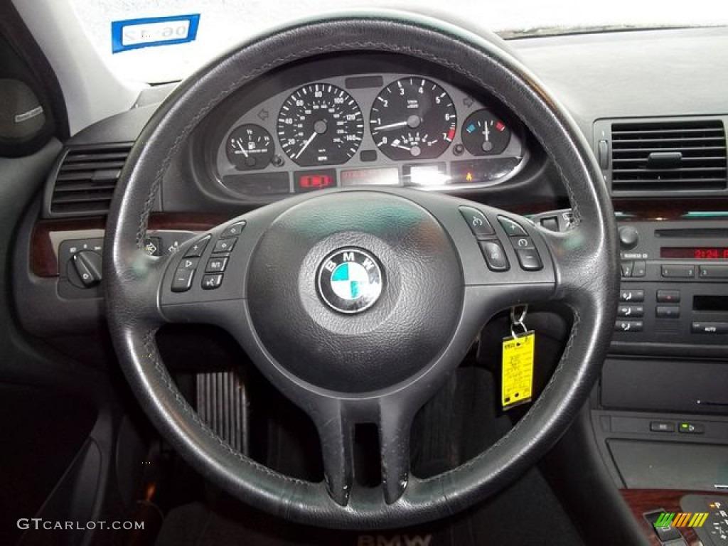 BMW Series I Sedan Black Steering Wheel Photo - Bmw 325i steering wheel