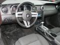 2006 Ford Mustang Black Interior Dashboard Photo
