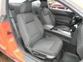 2006 Ford Mustang Black Interior Front Seat Photo
