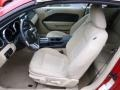 Medium Parchment Front Seat Photo for 2008 Ford Mustang #60196600