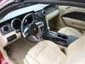 Medium Parchment Interior Photo for 2008 Ford Mustang #60196609