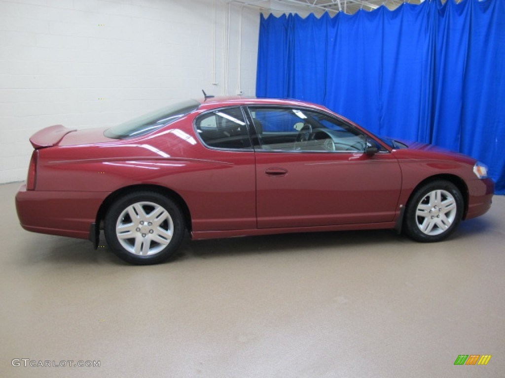 sport red metallic 2006 chevrolet monte carlo ltz exterior. Black Bedroom Furniture Sets. Home Design Ideas