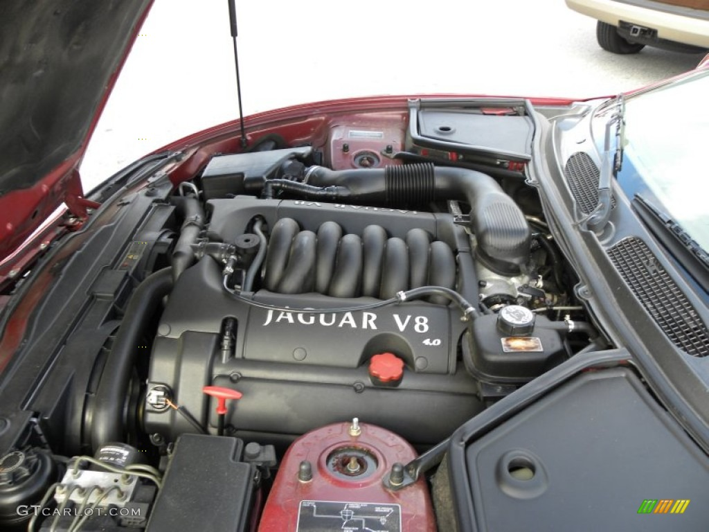 2000 jaguar xk xk8 convertible 4 0 liter dohc 32 valve v8. Black Bedroom Furniture Sets. Home Design Ideas