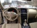 2011 Infiniti FX Wheat Interior Dashboard Photo