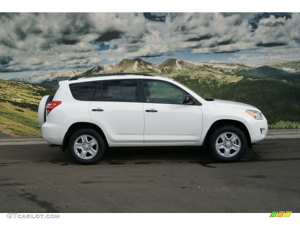 Super White 2012 Toyota RAV4 V6 4WD Exterior Photo #60205993 ...
