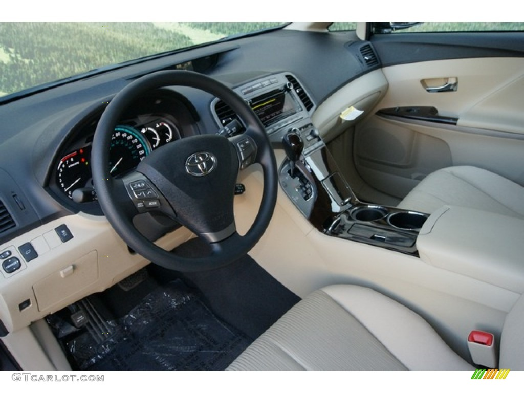 Great Ivory Interior 2012 Toyota Venza LE AWD Photo #60206167