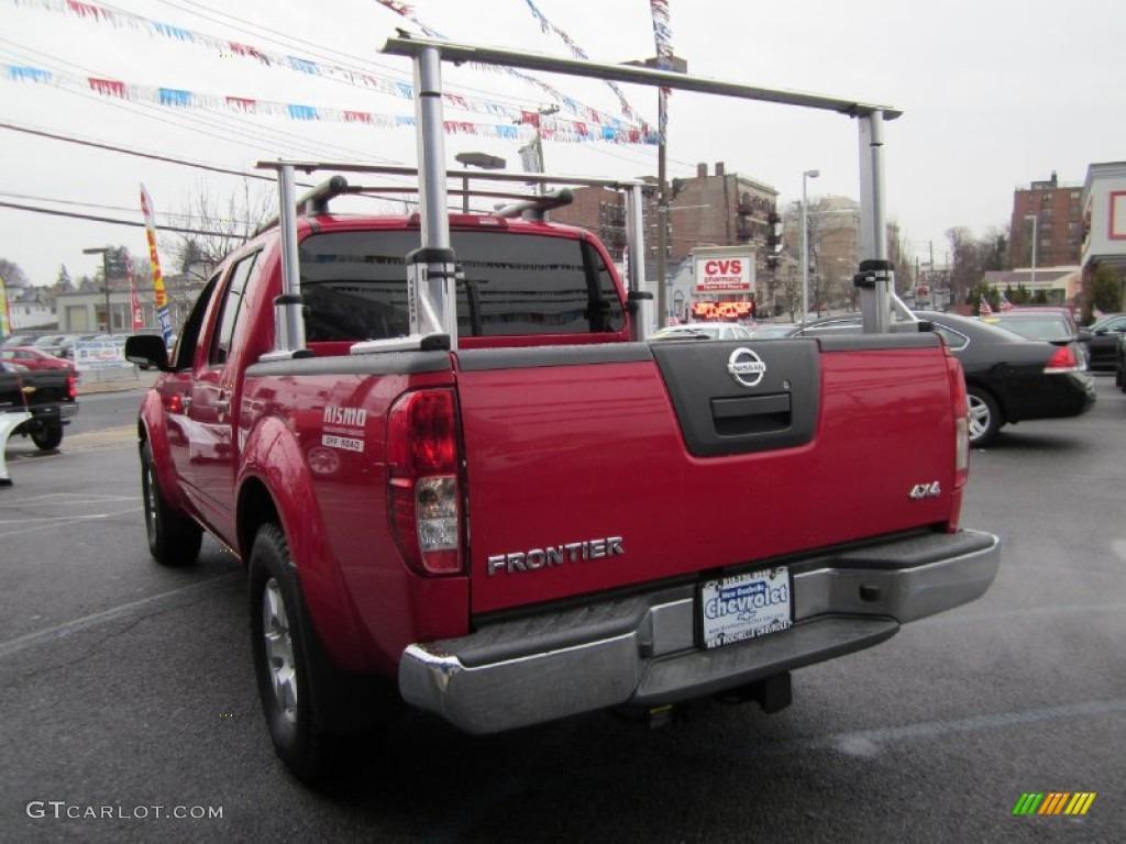 2008 Nissan Frontier Se Crew Cab 4x4 Thule Truck Rack