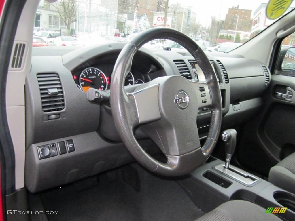2008 nissan frontier se crew cab 4x4 interior color photos
