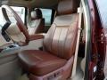 2012 Autumn Red Metallic Ford F250 Super Duty King Ranch Crew Cab 4x4  photo #28
