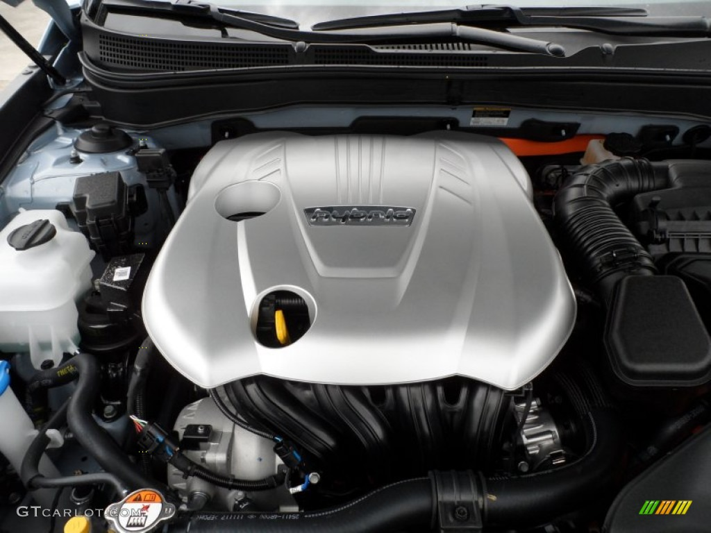 2012 Hyundai Sonata Hybrid 2 4 Liter H Dohc 16
