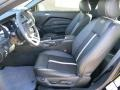 2012 Ford Mustang Charcoal Black/Cashmere Interior Front Seat Photo