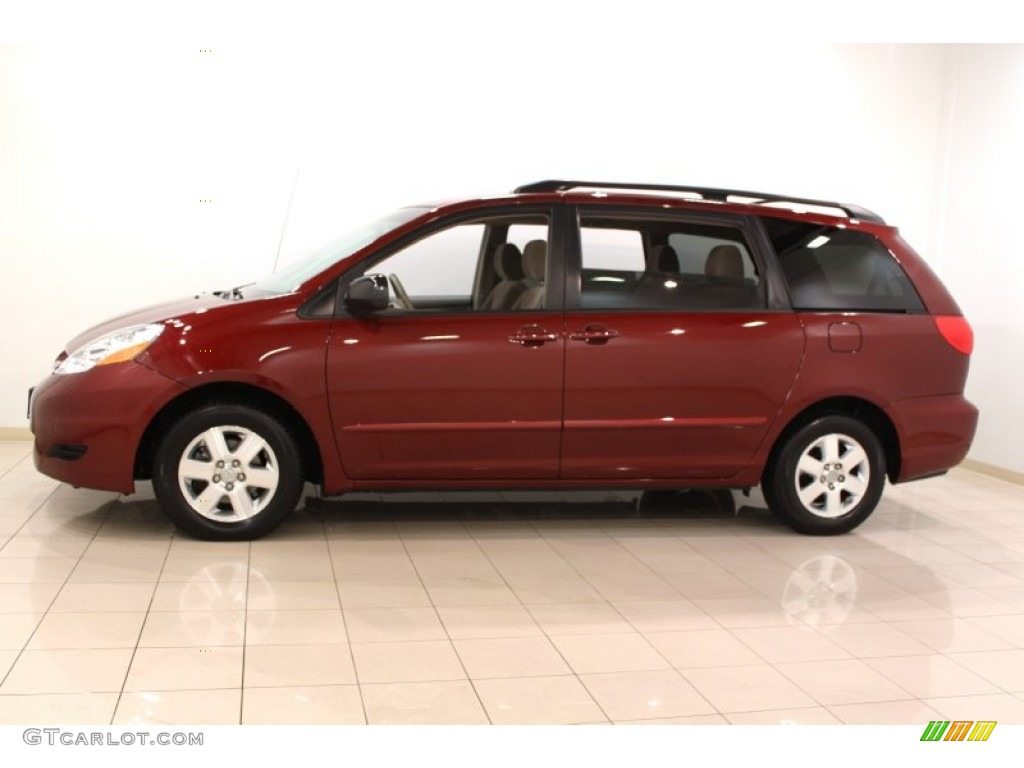 2009 salsa red pearl toyota sienna le 60181722 photo 4. Black Bedroom Furniture Sets. Home Design Ideas