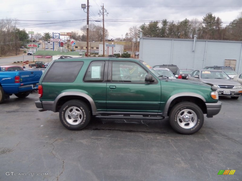 tropic green metallic 2000 ford explorer sport 4x4 exterior photo. Cars Review. Best American Auto & Cars Review