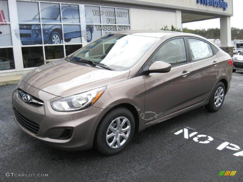 2012 Mocha Bronze Hyundai Accent Gls 4 Door 60232825