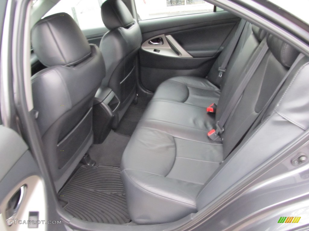 Dark Charcoal Interior 2008 Toyota Camry Se V6 Photo 60252722