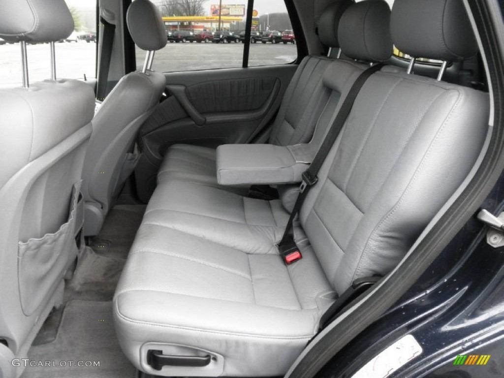Ash Interior 2002 Mercedes Benz Ml 500 4matic Photo 60253957