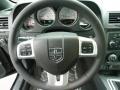 Dark Slate Gray Steering Wheel Photo for 2012 Dodge Challenger #60256175