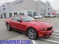2011 Red Candy Metallic Ford Mustang V6 Premium Coupe  photo #1
