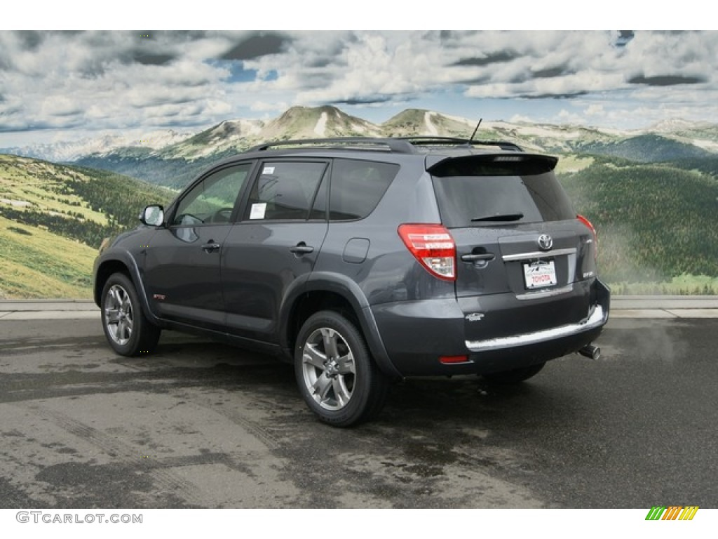Magnetic Gray Metallic 2012 Toyota Rav4 V6 Sport 4wd Exterior Photo 60260543