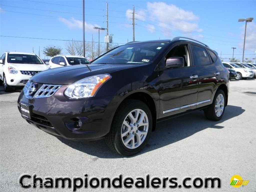 2012 Black Amethyst Nissan Rogue Sl 60232720 Photo 13