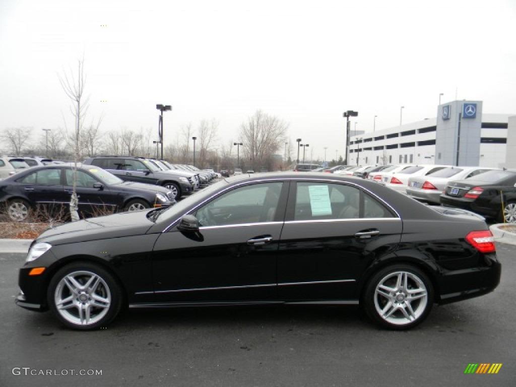 Black 2011 mercedes benz e 350 4matic sedan exterior photo for Mercedes benz e350 black