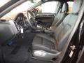 2012 Cayenne S Hybrid Black Interior