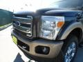 2012 Tuxedo Black Metallic Ford F250 Super Duty King Ranch Crew Cab 4x4  photo #10