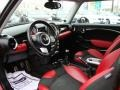 Black/Rooster Red Interior Photo for 2009 Mini Cooper #60276425