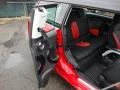 Black/Rooster Red Interior Photo for 2009 Mini Cooper #60276464