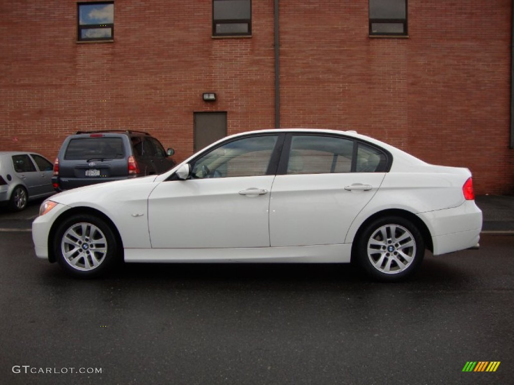 alpine white 2007 bmw 3 series 328xi sedan exterior photo. Black Bedroom Furniture Sets. Home Design Ideas