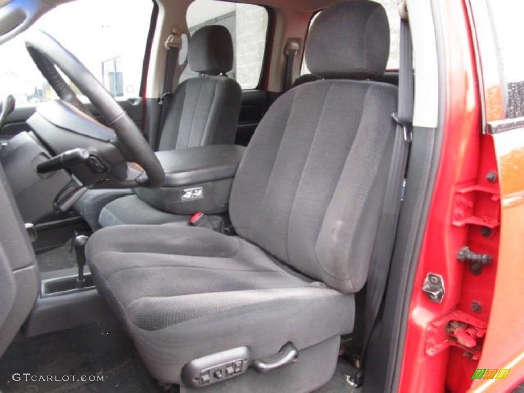 2002 Ram 1500 SLT Quad Cab 4x4 - Flame Red / Dark Slate Gray photo #8
