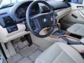 2002 Pearl Beige Metallic BMW X5 3.0i  photo #11