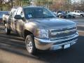2012 Mocha Steel Metallic Chevrolet Silverado 1500 LS Crew Cab  photo #7