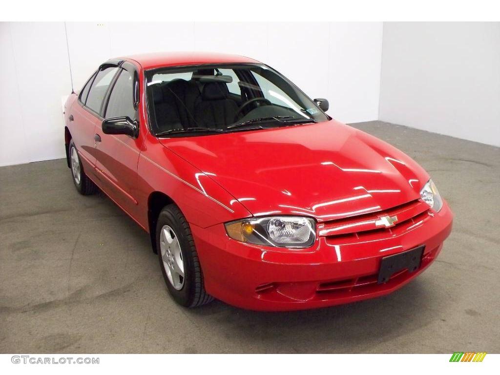 2004 Victory Red Chevrolet Cavalier Sedan 6020747 Gtcarlot Com Car Color Galleries