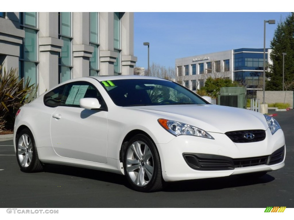 2011 karussell white hyundai genesis coupe 2 0t 60289727. Black Bedroom Furniture Sets. Home Design Ideas
