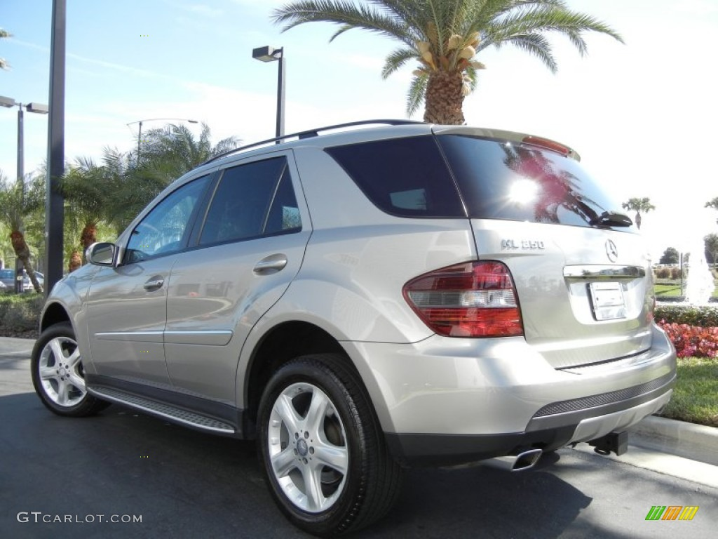 Pewter metallic 2008 mercedes benz ml 350 4matic exterior for Mercedes benz ml 350 2008