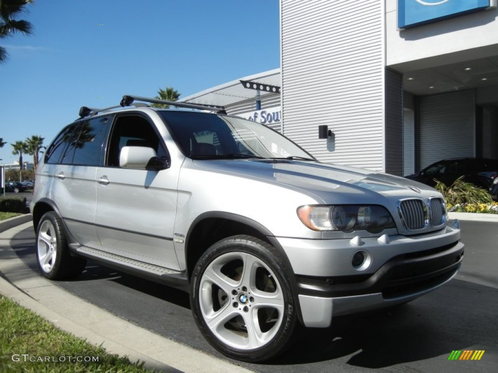 titanium silver metallic 2003 bmw x5 exterior photo 60297571. Black Bedroom Furniture Sets. Home Design Ideas