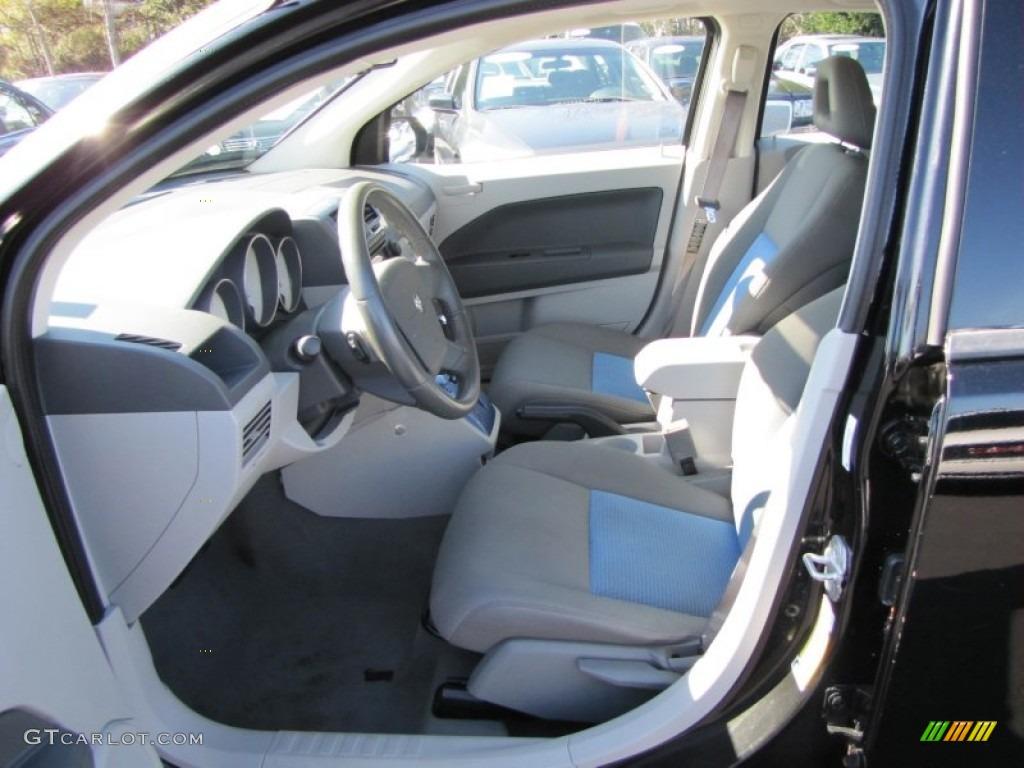 Pastel Slate Gray Blue Interior 2007 Dodge Caliber Sxt Photo 60304217