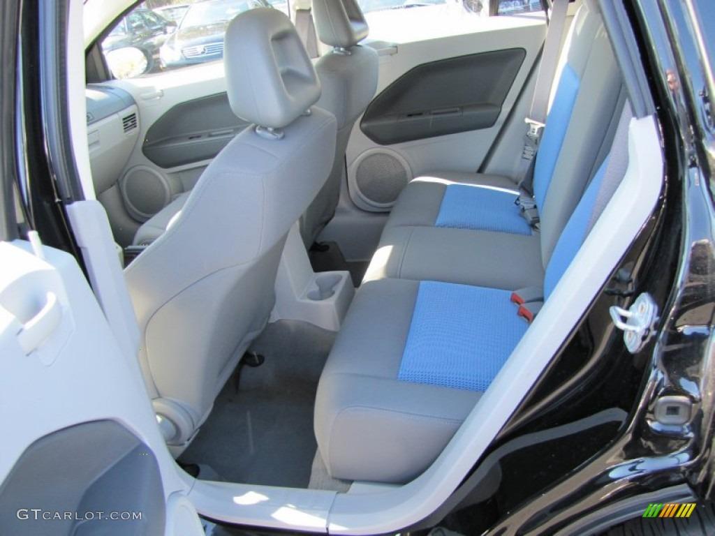 Pastel Slate Gray Blue Interior 2007 Dodge Caliber Sxt Photo 60304235