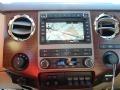 2012 White Platinum Metallic Tri-Coat Ford F250 Super Duty King Ranch Crew Cab 4x4  photo #13