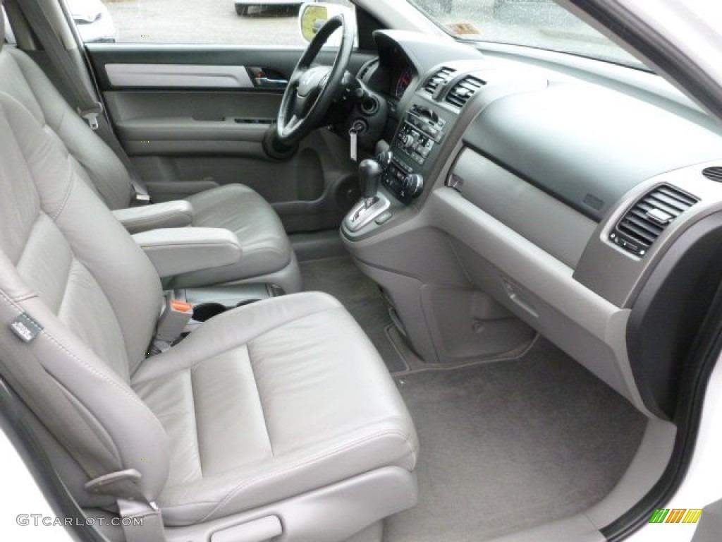 2010 CR-V EX-L AWD - Taffeta White / Gray photo #9