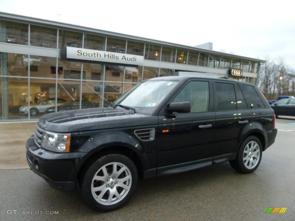 2007 java black pearl land rover range rover sport hse 60289798 car color. Black Bedroom Furniture Sets. Home Design Ideas