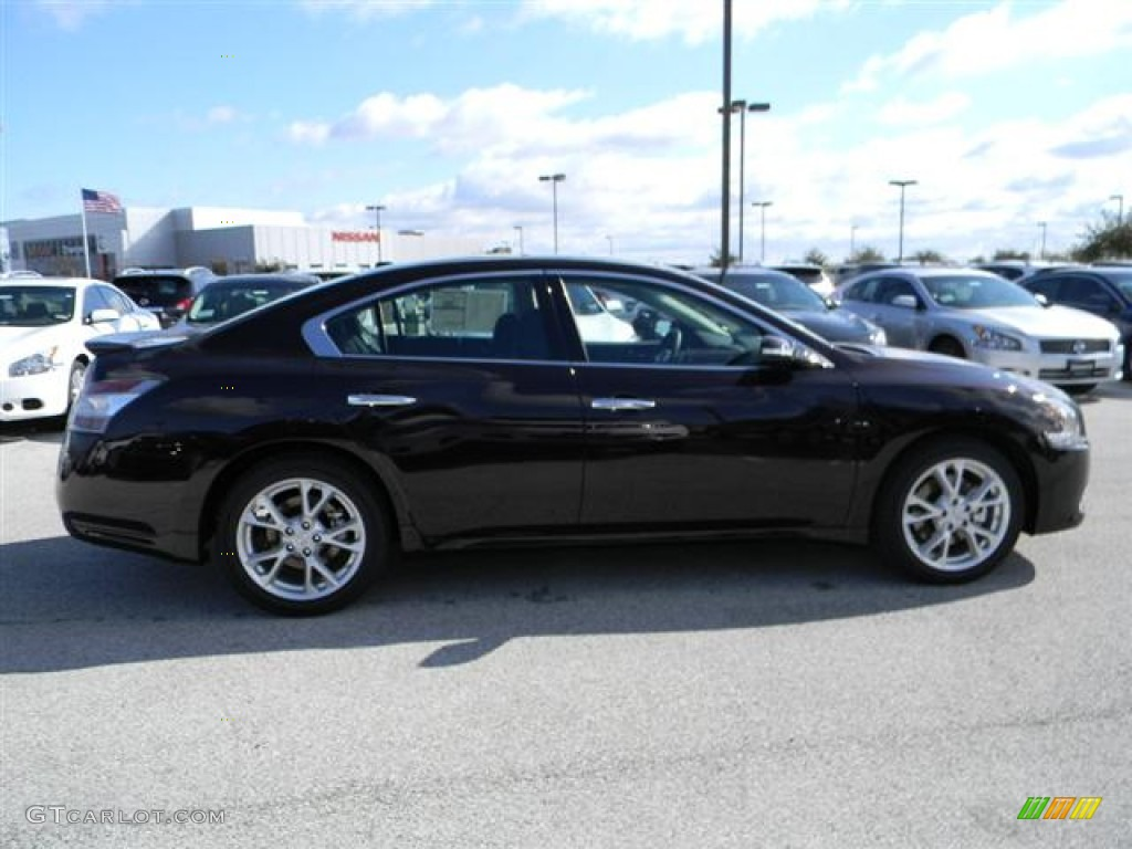 2012 crimson black nissan maxima 3 5 sv sport 60320030 photo 4 car color. Black Bedroom Furniture Sets. Home Design Ideas
