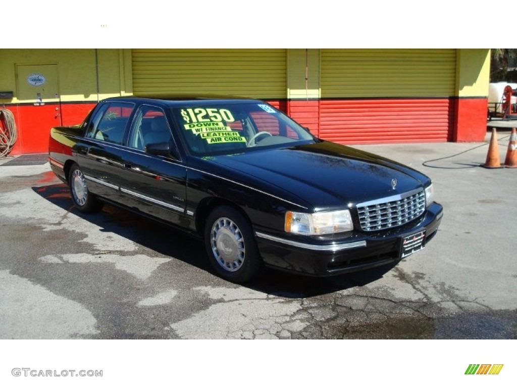 1998 Black Cadillac Deville Sedan 60328629 Gtcarlot Com