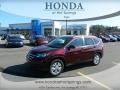 2012 Basque Red Pearl II Honda CR-V EX-L  photo #1