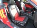 2008 Ford Mustang Black/Red Interior Interior Photo