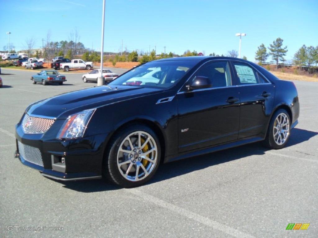 2012 Black Raven Cadillac Cts V Sedan 60328776