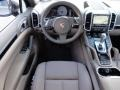 2012 Cayenne S Hybrid Umber Brown/Light Tartufo Interior