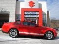 2011 Race Red Ford Mustang V6 Premium Coupe  photo #1