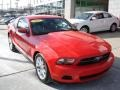 2011 Race Red Ford Mustang V6 Premium Coupe  photo #2